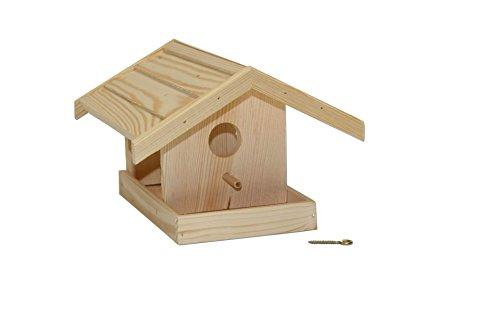 Unbekannt Vogelhaus Holz klein zum selber bemalen Futterhaus Häuschen