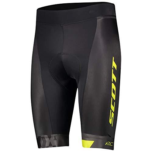 Scott RC Team ++ Fahrrad Hose kurz schwarz/gelb 2021: Größe: M (46/48)