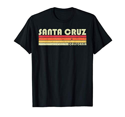 SANTA CRUZ CA CALIFORNIA Funny City Home Roots Gift Retro T-Shirt