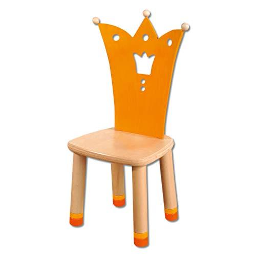 Wiemann Lehrmittel Geburtstagsstuhl für Kinder, aus Holz, Sitz höhenverstellbar