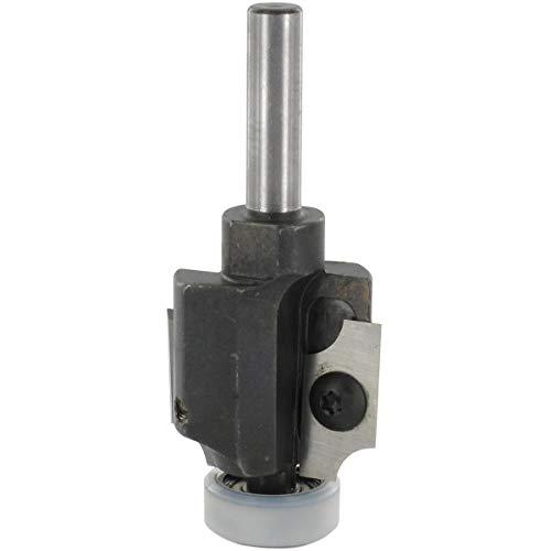 ENT 20332 Abrundfräser und Viertelstabfräser HW (HM), Schaft (S) 8 mm, Durchmesser (D) 26 mm, (NL) 19,5 mm, (R) 3 mm, (D KL) 20/16 mm, mit 2 Kugellager