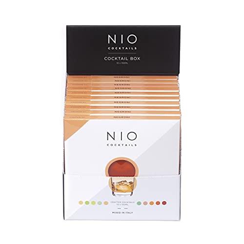 NIO Cocktails - Box Cocktail Negroni - 10 drink pronti da bere a domicilio