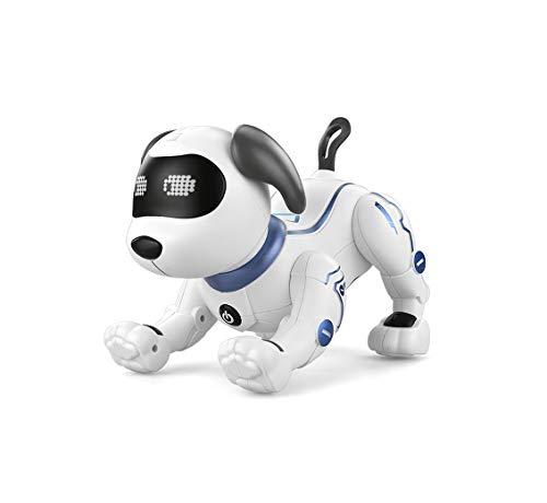 「国内正規品」犬型ロボット 電子ペット プログラミングおもちゃ 「日本語取扱説明書付き」 ロボット犬 ロボットペット ロボットおもちゃ 子供のおもちゃ 男の子 女の子 誕生日 子供の日 クリスマスプレゼント 英語練習 (YCRK16A)