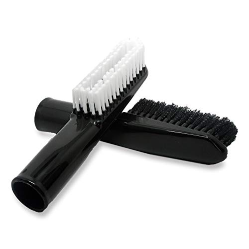 VMTC Suction Brush Kit (Hard & Soft Bristles) Vacuum Cleaner Accessory 35mm - for Karcher WD1, WD2, WD3, WD4, WD5, WD6