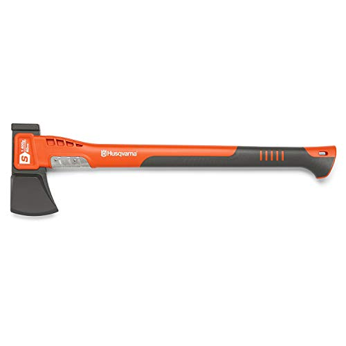 Husqvarna 24 in. Steel Splitting Axe with Fiberglass Handle