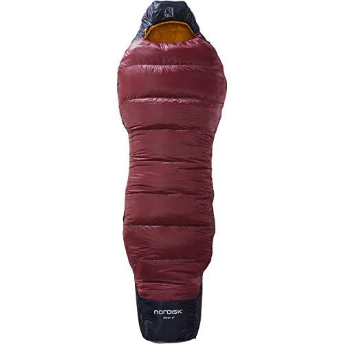 Nordisk Oscar -2° Curve Schlafsack XL Rio red/Mustard Yellow/Black 2021 Quechua Schlafsack