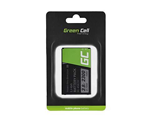 Batería de Repuesto Interna Green Cell BL-45A1H Compatible con LG K10 K420n K430 | Li-Ion | 2300 mAh 3.8 V | Batería de reemplazo para teléfono móvil del Smartphone | Recargable