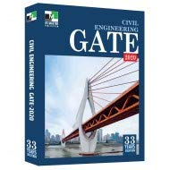 GATE Civil Engineering Book with 33 YEARS SOLUTIONS