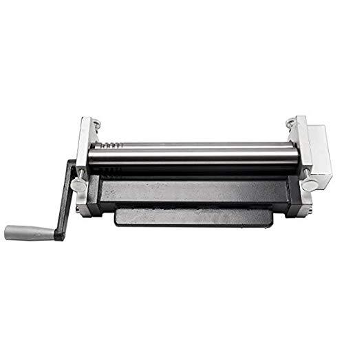 Hanchen Manuelle Stahlplatte Walzmaschine Metallplatte Biegen Rundmaschine Furnier Spulmaschine für Rolling Stahlplatte Aluminiumplatte Verzinkungsplatte