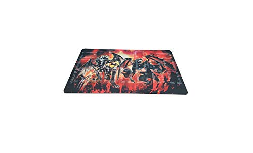 AArt TM Yugioh Template 2017 Master Rule 4 Link Zone Playmat - TCG Playmat - YuGiOh Malebranche of The Burning Abyss Custom Playmat - TCG Playmat - Yugioh Duel Playmat, Gaming Playmat