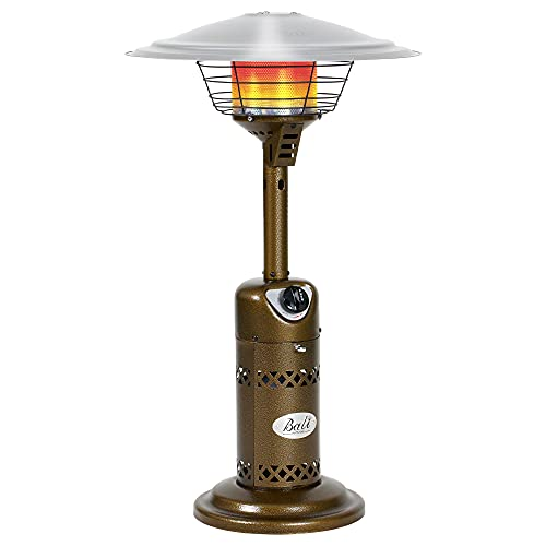 BALI OUTDOORS Patio Heater Gas Portable Tabletop Heater Propane Patio Heaters, Outdoor Table Top Heater W/ Adjustable Thermostat, Suitable For Yard, Commercial Restaurant, Gazebo