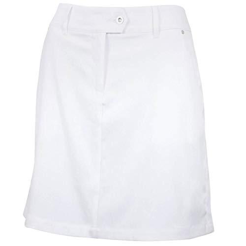 Island Green Damen Iglskt1852 Golf Skort Shorts, Damen, IGLSKT1852, weiß, 38
