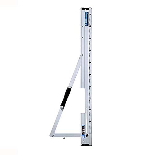 丸ノコガイド定規 たためるエルアングル 1m メートル目盛 78102 定規 丸鋸ガイド シンワ測定 H