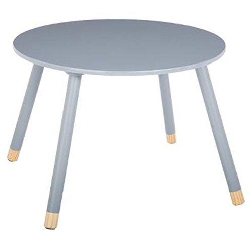 Paris Prix Atmosphera for Kids - Table d'Appoint Design Enfant Douceur 60cm Gris