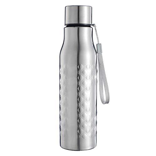letaowl Botella de agua aislada 750ml Botella de agua portátil al aire libre de acero inoxidable de gran capacidad de una sola pared botellas de agua fría caliente botella de aislamiento térmico