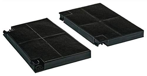 KGA SUPPLIES type EFF70 koolstoffilter voor Zanussi afzuigkap 193 x 135 x 20 mm, 2 stuks