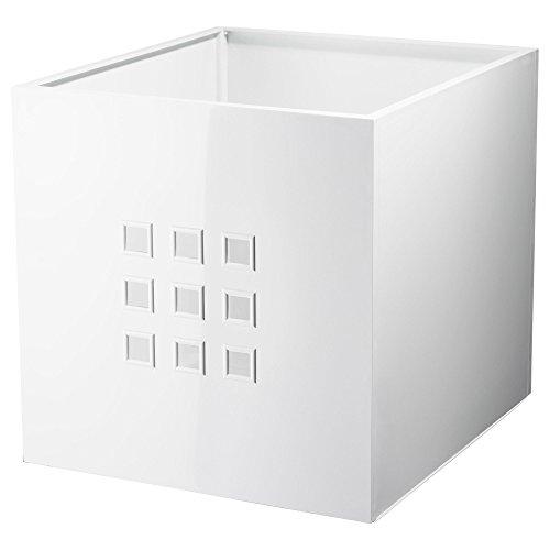 LEKMAN IKEA, Aufbewahrungsbox, 33 x 37 x 33 cm, Weiß