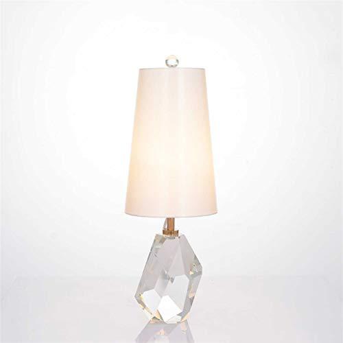 ISDY luz Moderno K9 Crystal Dormitorio Dormitorio Lámparas Art Deco Sala de Estar Lámpara de Escritorio Lámpara Americana Decoración para el hogar Estudio Luz de Cama LED Lighture