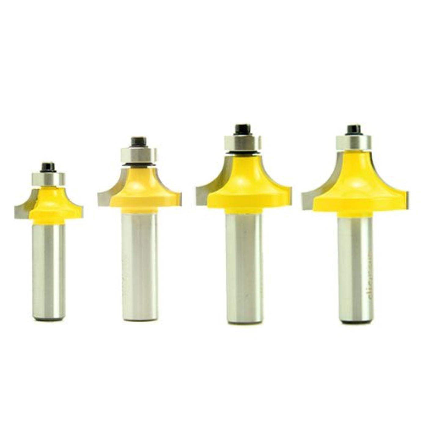 売り手ジュニアスズメバチdms09602 丸面スペシャルベアリング12.7mm 4組セット1/2ルータービットMicrotungsten carbide