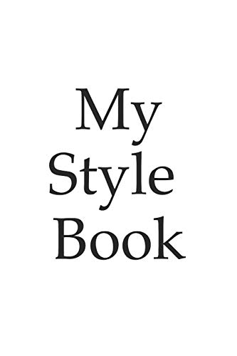 Outfit planner - My style book - gift, dress, clothes, tie, tailor, suit - 120 Pages - clothing, clothes, dress, attire, wear, outfit, dressing
