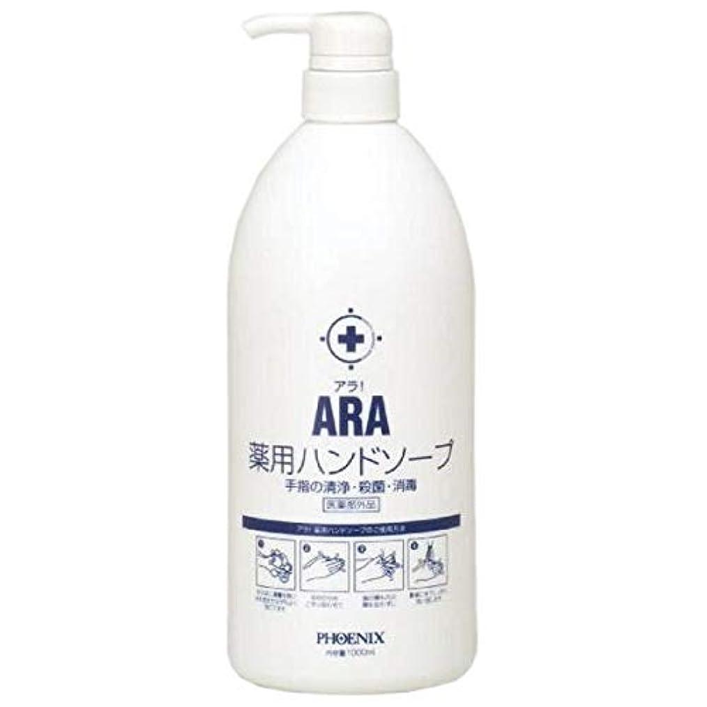 傘味付け皿ARA 薬用ハンドソープ(ボトルタイプ) 1000ml×10本入