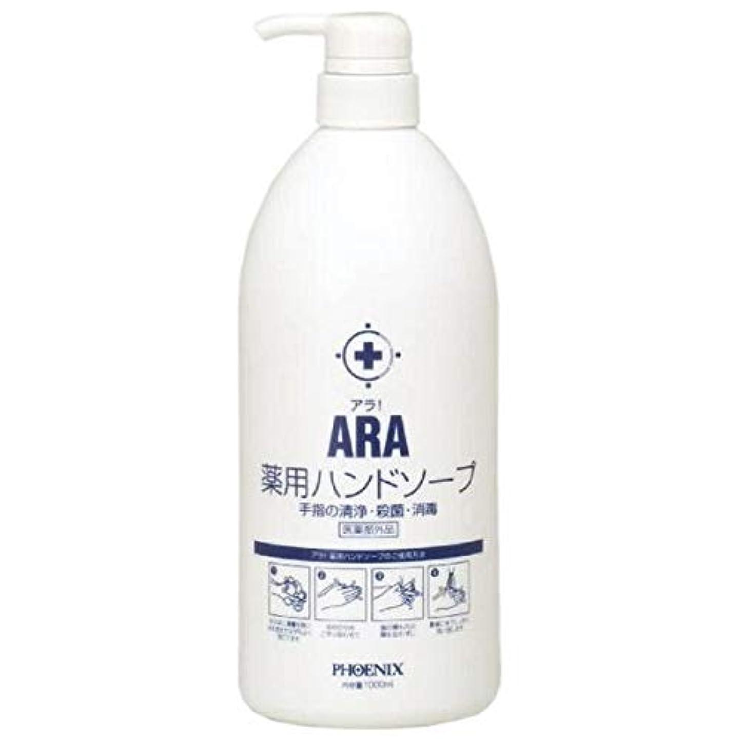 ディベート解くすぐにARA 薬用ハンドソープ(ボトルタイプ) 1000ml×10本入