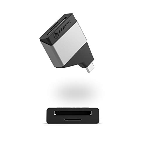 ALOGIC USB C to SD and Micro SD Adapter, Compatible with MacBook Pro, Air, Pixel Book, XPS, Surface, Galaxy, iPad Pro, Air 2020 and More (Thunderbolt Compatible)