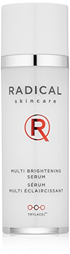 Radical Skincare Multi Brightening Serum, 1 Fl Oz - Fights 7 Causes of Uneven Skin Tone, Tightens and Brightens Skin | For All Skin Types Including Sensitive Skin | Paraben Free | Clinically Proven Results
