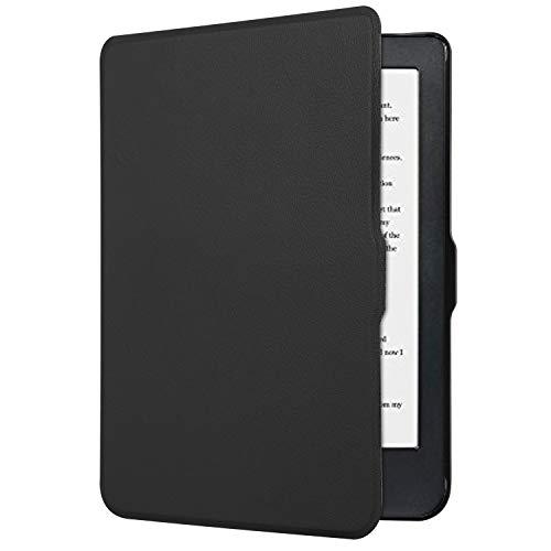 Spartechnik - Cover per e-book reader Kobo Clara HD 2018, 6 pollici, con funzione Sleep/Wake nero Nero