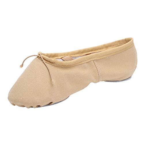 Zapatos De Baile De Suela Blanda Resistentes Al Desgaste Zapatos De Ballet Suaves Y Transpirables De Moda Zapatos De Baile De Yoga Transpirables De Color Rápido Zapatos De Baile De Gimnasia