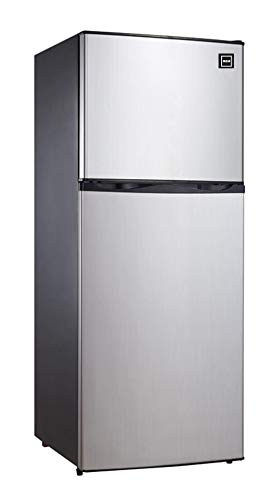RCA RFR1207 Top Freezer Apartment Size Refrigerator, 12 cu ft, Stainless