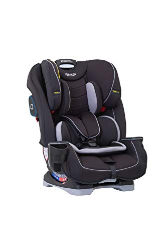 Graco Slimfit All-in-One Car Seat, Group 0+/1/2/3 (Birth to 12 Years Approx, 0-36 kg), Black