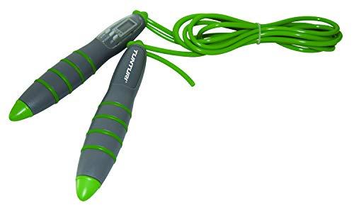 Tunturi Jumpropes Comba Saltar con Contador Digital, Unisex adulto, Verde, Única