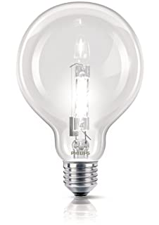 Philips Ampoule EcoHalogène Globe Culot E27 70 Watts consommés Equivalence incandescence : 92W (B009568C14) | Amazon price tracker / tracking, Amazon price history charts, Amazon price watches, Amazon price drop alerts