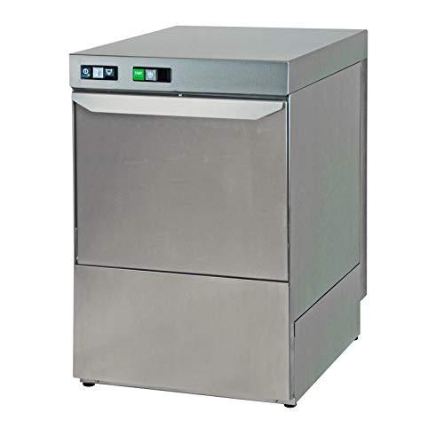 Lavavajillas 500-400 DP Trifásico con bomba de desagüe y dosificador detergente – Combisteel – 400 V trifase