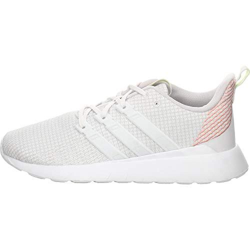 adidas Unisex-Kinder Questar Flow K Laufschuhe Kids, Gray Dash Grau FTWR White Pink Glory, 37 1/3 EU
