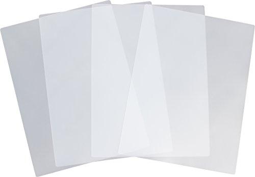 Kim Kranholdt Tischset Platzset 4-teilig, transparent milchig, Größe: 430 x 325 mm, abwaschbar