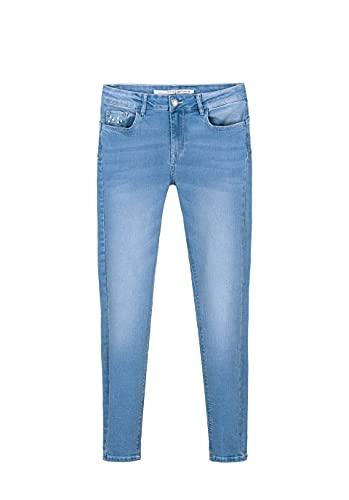 Tiffosi Jeans light push perlas mujer - 31, C1030