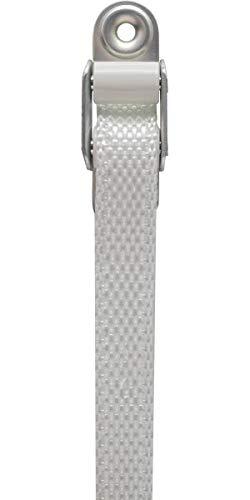 Schellenberg 51300 Gurtführung Mini für 14 mm Rolladengurte, mit 2 Leitrollen, schont das Gurtband