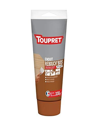 Toupret Enduit de Rebouchage Rebouche Bois Pâte - Tube 330g, marron