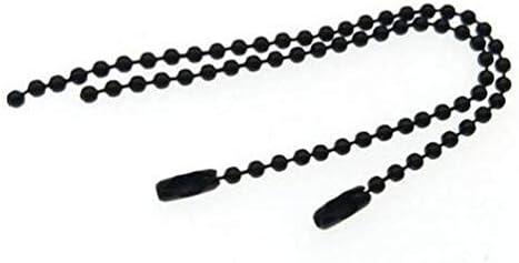 50pcs New product type lot 2.4mm Max 61% OFF Ball Bead Chains Chain fits Key La Keyring Dolls