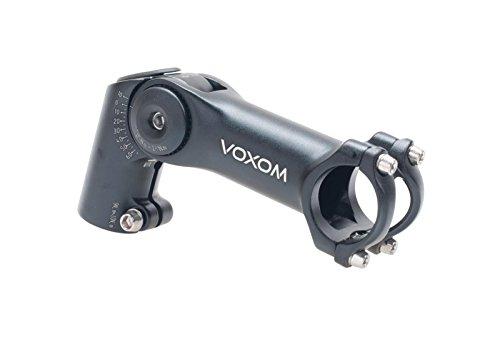 Voxom VB331,8mm, 120mm, Altura Regulable, de 10/+ 65° Vorbau, Negro, 31.8