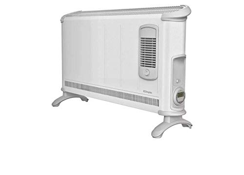Dimplex 3kW Wall Mountable Convector Heater with Thermostat, Turbo Fan and 7 Day Electronic Timer