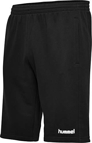 hummel Hmlgo Cotton Bermuda Shorts, Hombre, Negro, L