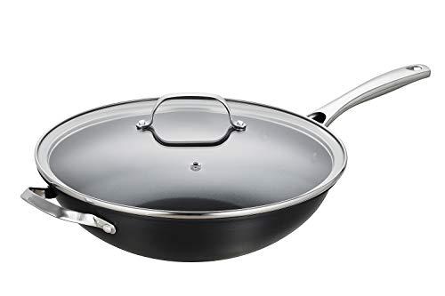 12 inch hard anodized wok - 2