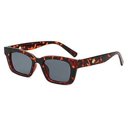 SENZHILINLIGHT Gafas de Sol rectangulares Vintage para Mujer, Gafas de Sol Puntiagudas Retro, Gafas de Mujer para Mujer, Gafas de Conductor de Ojo de Gato