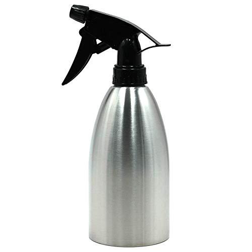 HshDUti 500 ml Gartenwerkzeug Edelstahl Gießkanne Pflanzen Sprühflasche Nebel Wasserkocher Silver 500ml