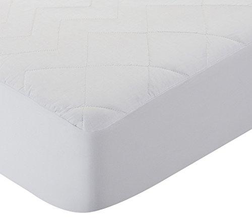 Pikolin Home - Cubre colchón acolchado, antialérgico (antiácaros, bacterias y moho), impermeable, 150x190/200cm-Cama 150 (Todas las medidas)