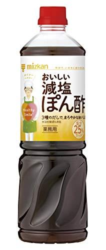 ミツカン Healthy Smile おいしい減塩ぽん酢 1L ×2本