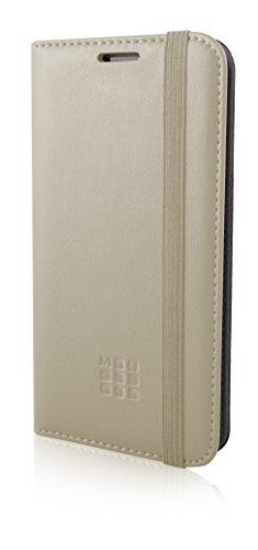 Moleskine MOFLBKS7BE Classic Book geprägtes Logo Schutzhülle für Samsung Galaxy S7 beige